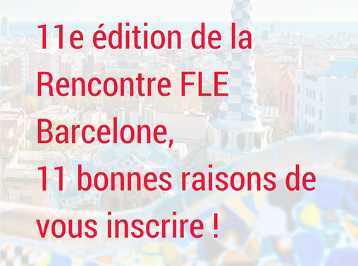 Rencontre internationale fle barcelone