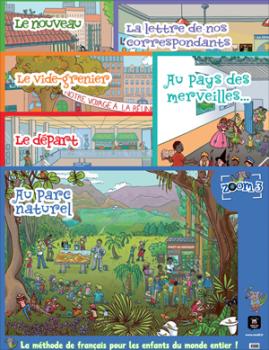Zoom 3 - Pack de 6 posters
