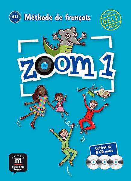 Zoom 1 - Pack de 3 CD audio
