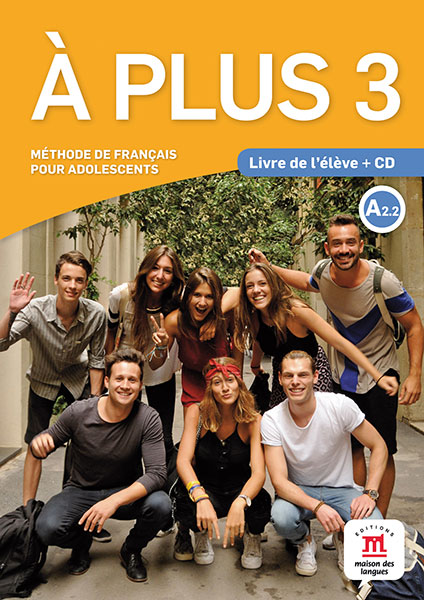À plus 3 - Livre de l'élève + CD audio