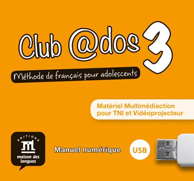Club @dos 3 - Clé USB Multimédiaction