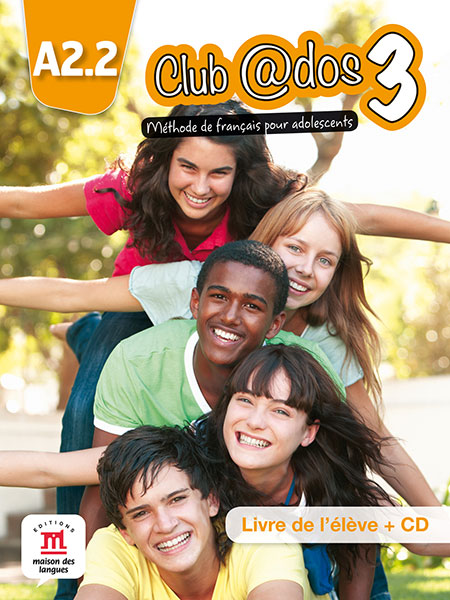 Club @dos 3 - Livre de l'élève + CD audio
