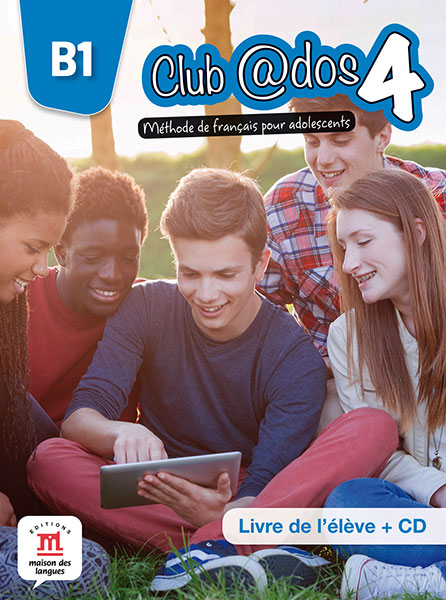 Club @dos 4 - Livre de l'élève + CD audio