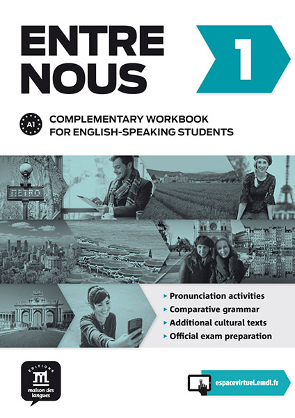 Entre nous 1 - Cahier d'accompagnement anglophone