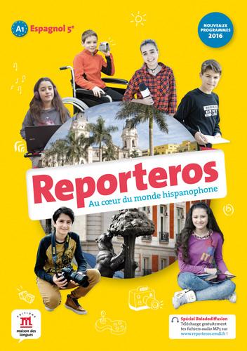 Reporteros 5e - Livre de l'élève