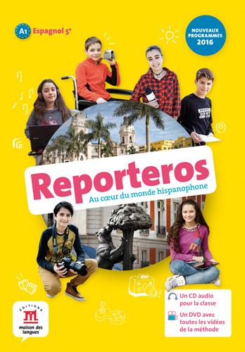 Reporteros 5e - Pack CD audio classe + DVD