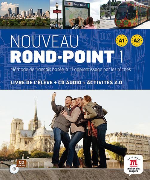 Nouveau Rond-Point 1 - Livre de l'élève + CD audio