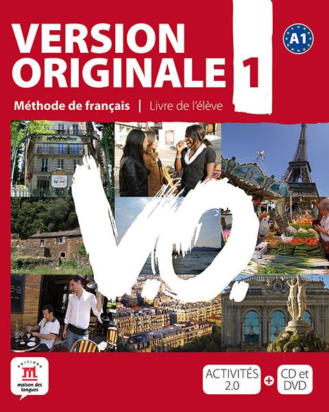 Version Originale 1 - Livre de l'élève + CD audio + DVD
