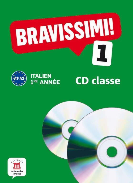 Bravissimi! 1re année - CD audio classe