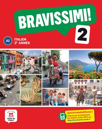 Bravissimi! 2e année - Livre de l'élève + MP3