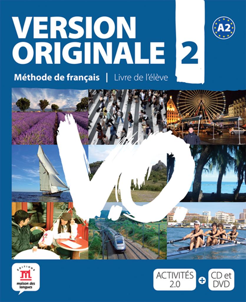 Version Originale 2 - Livre de l'élève + CD audio + DVD