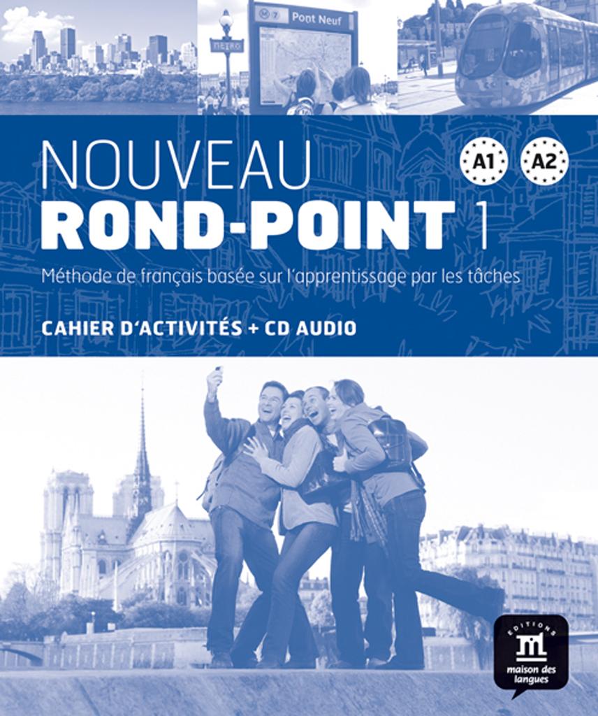 Nouveau Rond-Point 1 - Cahier d'activités + CD audio