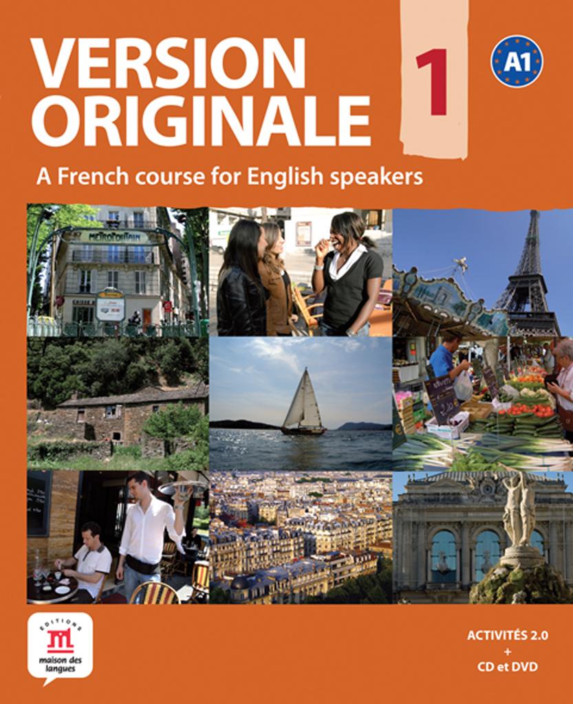 Version Originale 1 - Livre de l'élève + CD audio + DVD - Anglophone