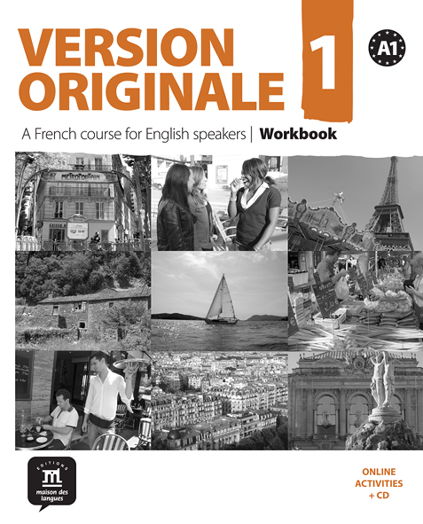 Version Originale 1 - Cahier d'exercices + CD audio - Anglophone