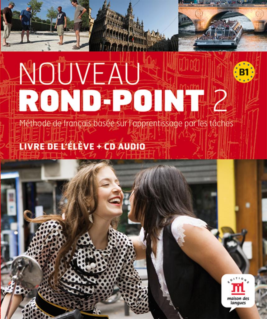Nouveau Rond-Point 2 - Livre de l'élève + CD audio