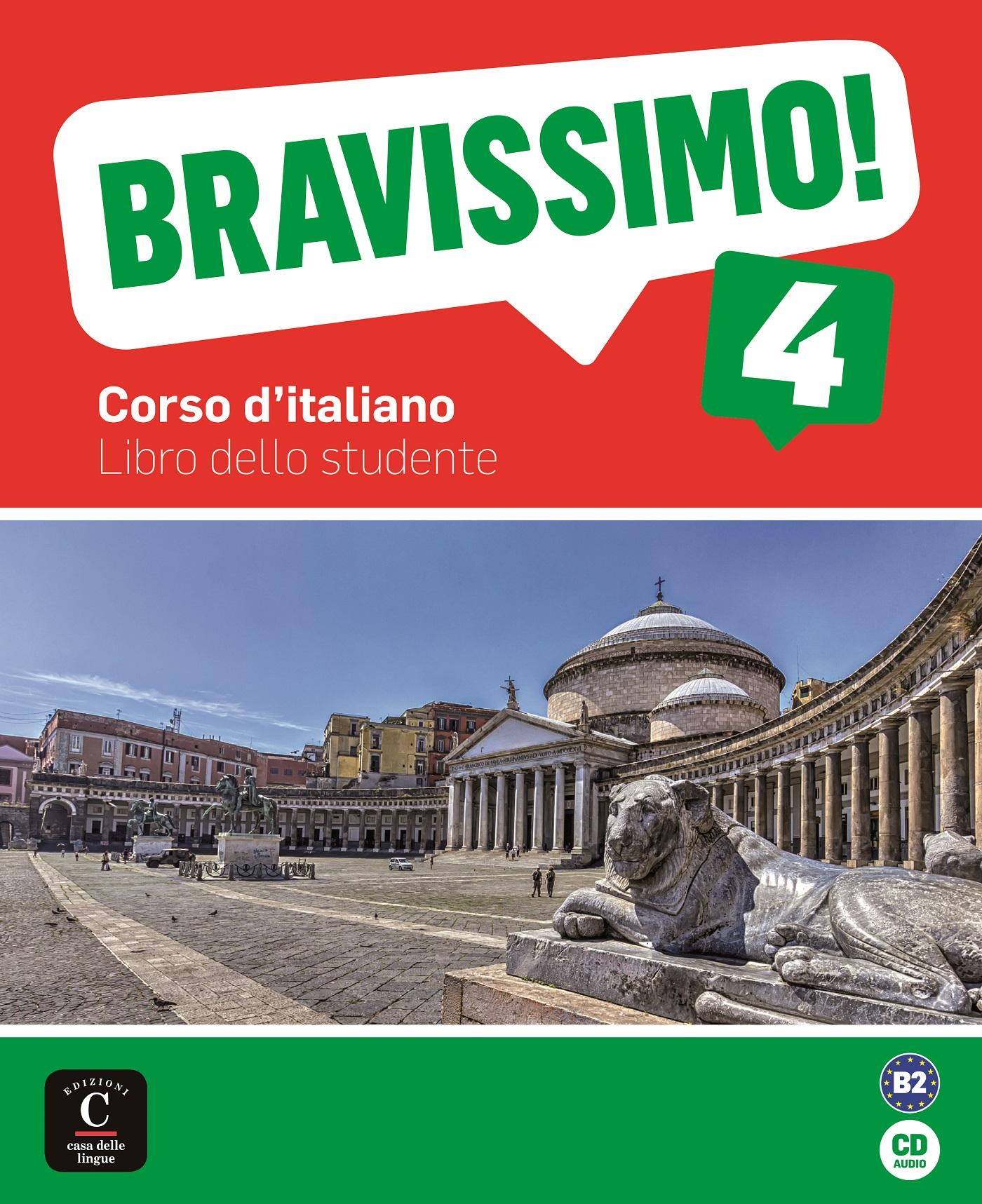 Bravissimo! 4 - Livre de l'élève + CD