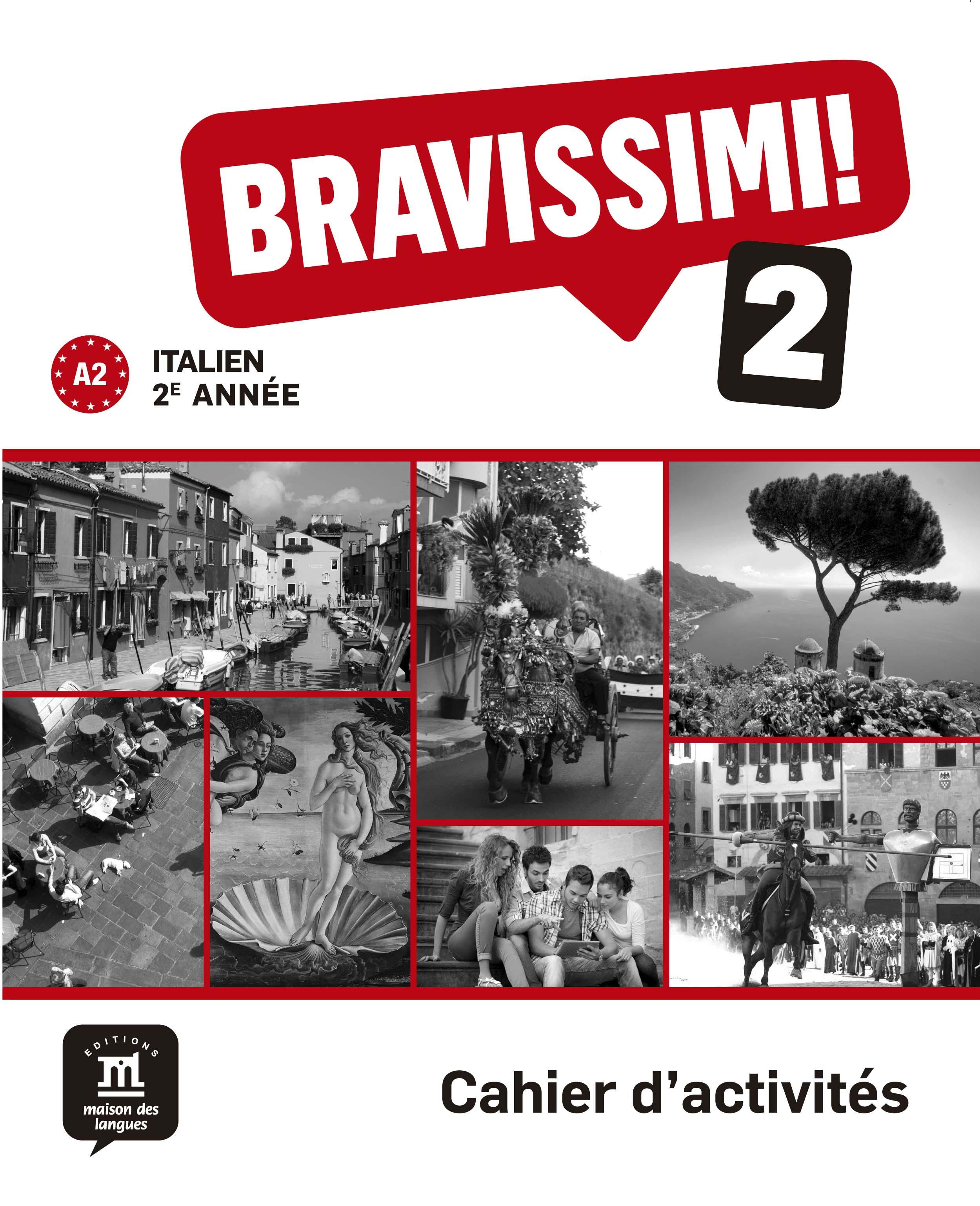 Bravissimi! 2e année - Cahier d'activités