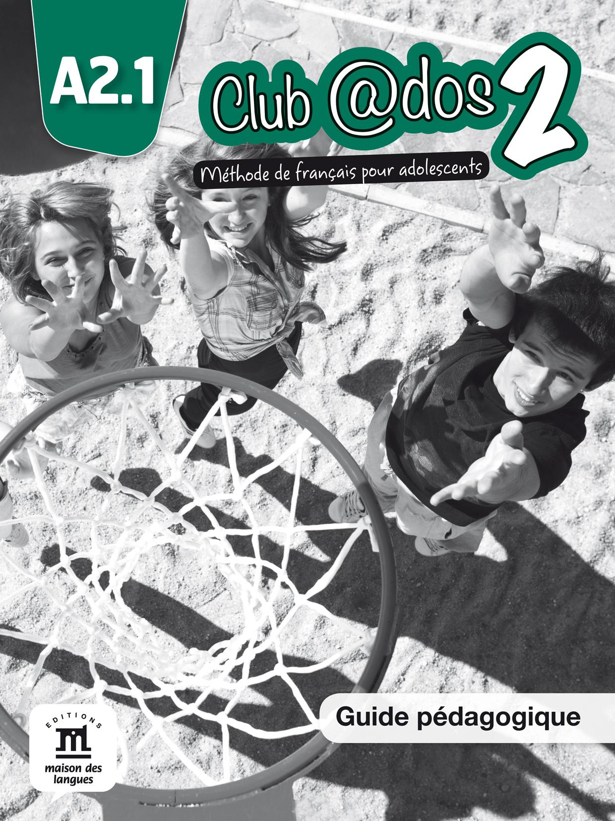 Club @dos 2 - Guide pédagogique