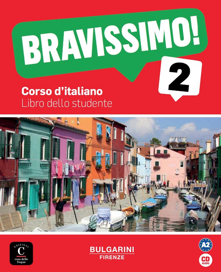 Bravissimo! 2 - Livre de l'élève + CD