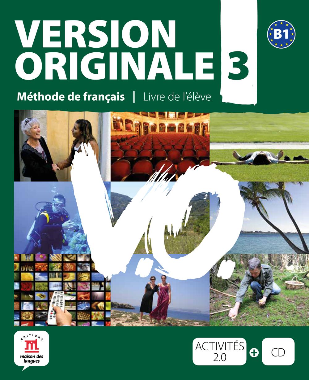Version Originale 3 - Livre de l'élève + CD audio