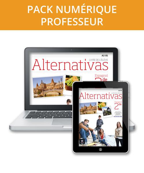 Alternativas 2de - Pack numérique professeur