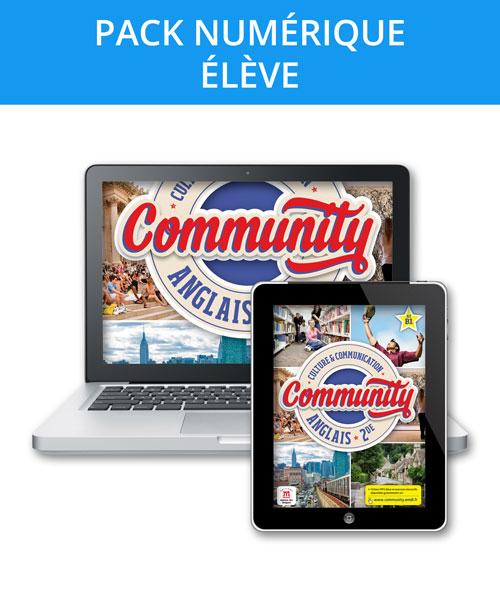 Community 2de - Pack numérique élève