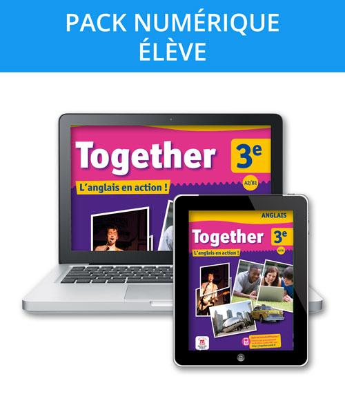 Together 3e - Pack numérique l'élève