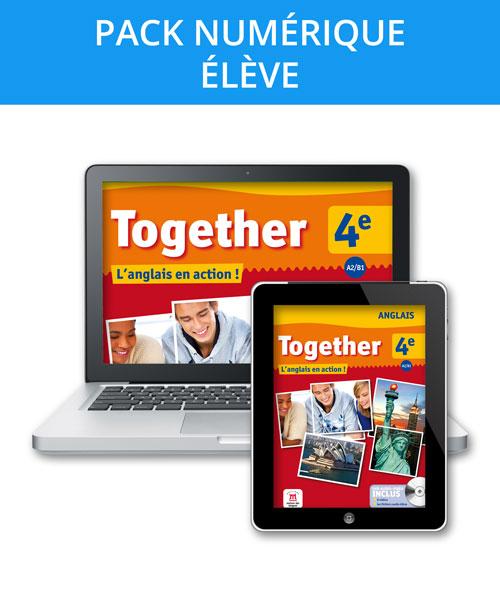 Together 4e - Pack numérique l'élève