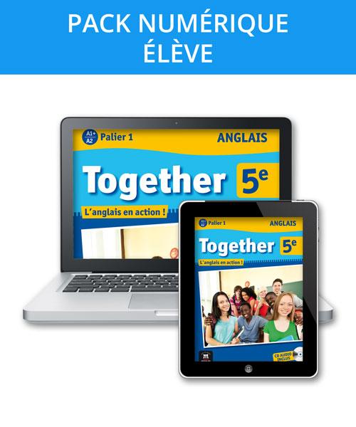 Together 5e - Pack numérique élève