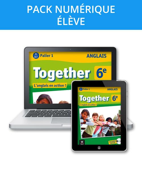 Together 6e - Pack numérique élève