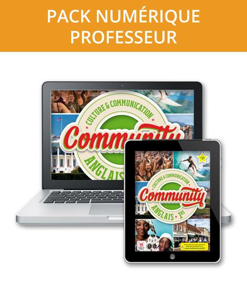 Community 1re -Pack numérique professeur