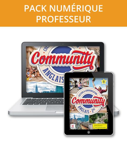 Community 2de - Pack numérique professeur