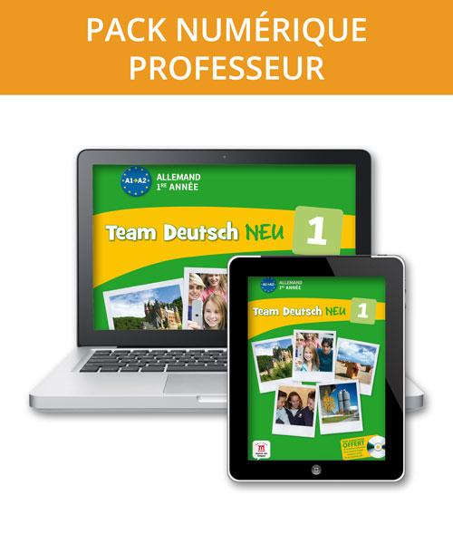 Team Deutsch NEU 1 - Pack numérique professeur