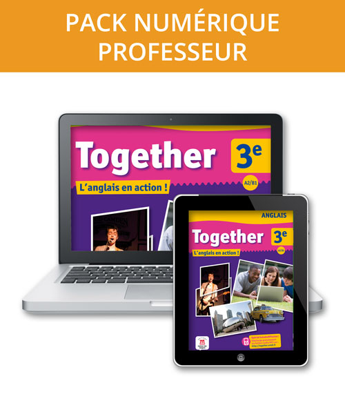 Together 3e - Pack numérique professeur