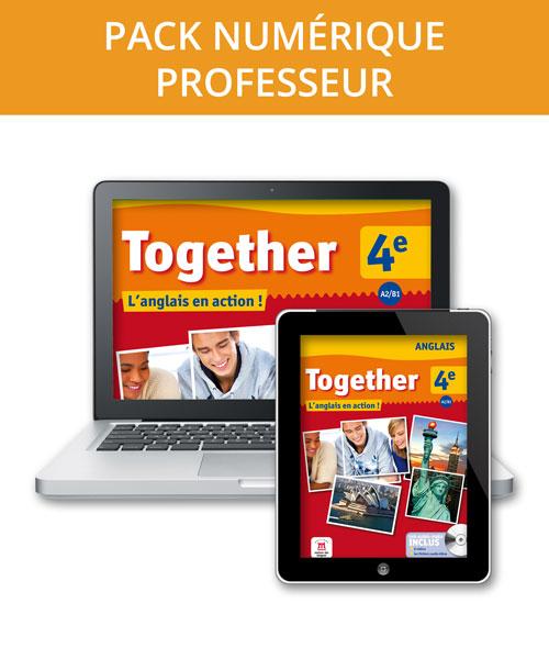Together 4e - Pack numérique professeur