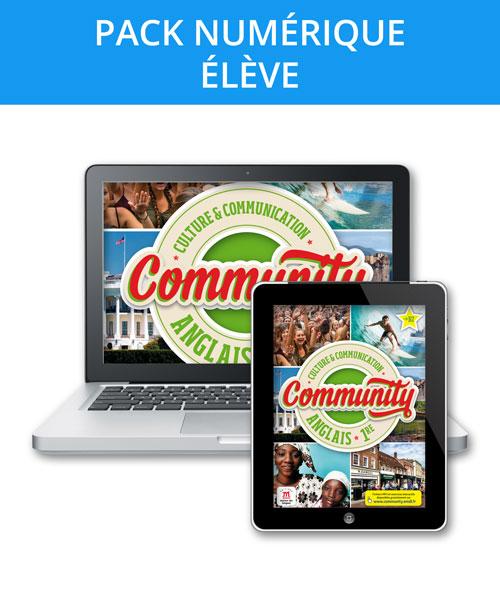 Community 1re - Pack numérique élève