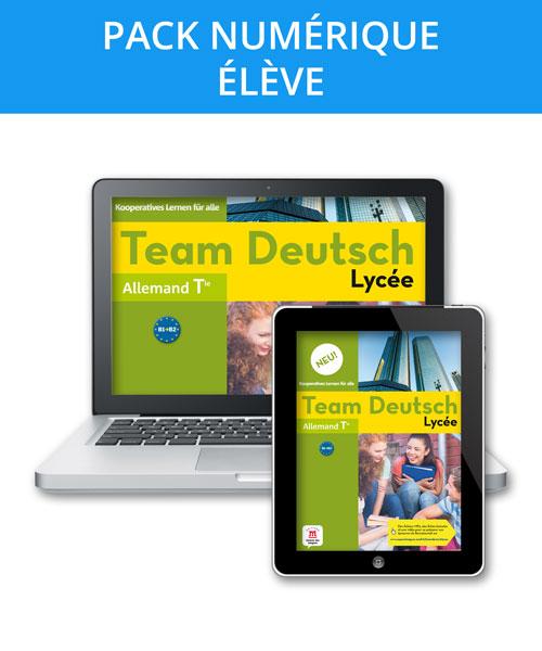 Team Deutsch Lycée Neu! Terminale – Pack numérique l'élève