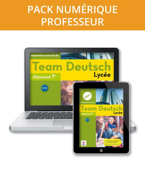 Team Deutsch Lycée Neu! Terminale – Pack numérique professeur