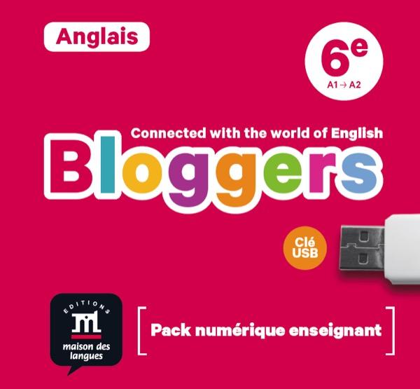 Bloggers 6e – Clé USB pour l'enseignant