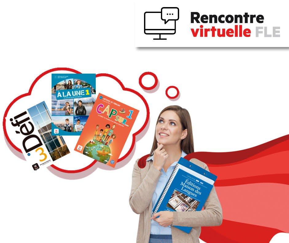 Rencontre Virtuelle FLE nouveautés 2019