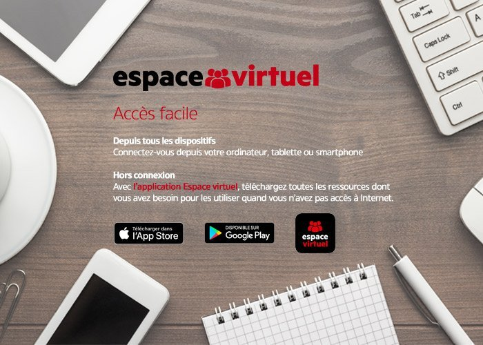 Applications Espace virtuel
