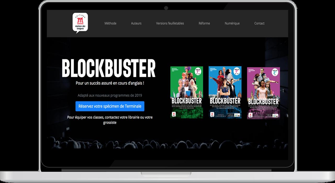 Le mini-site Blockbuster