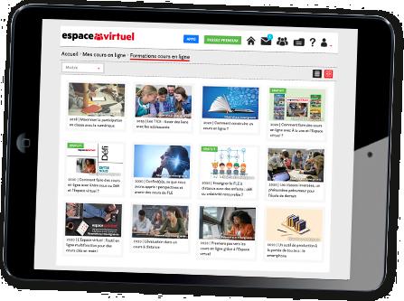 Cours en ligne Espace virtuel