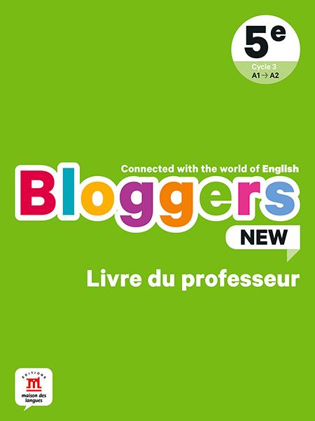 Bloggers New 5e - Livre du professeur