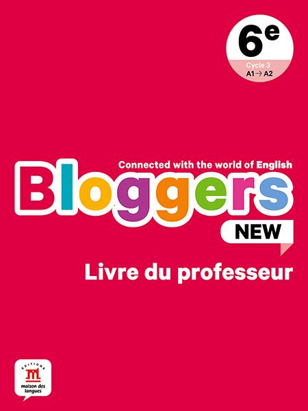Bloggers new - livre du professeur