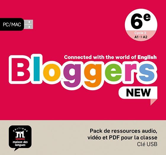 Bloggers new - pack de ressources sur clé usb