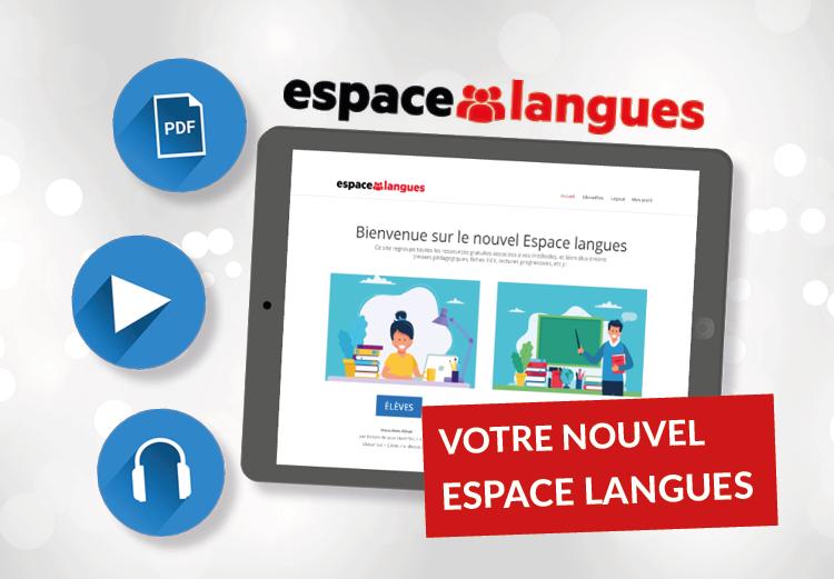 Visuel nouvel Espace langues