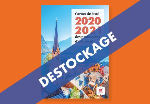 Destockage du Carnet de bord 2021-2022 des professeurs d'allemand