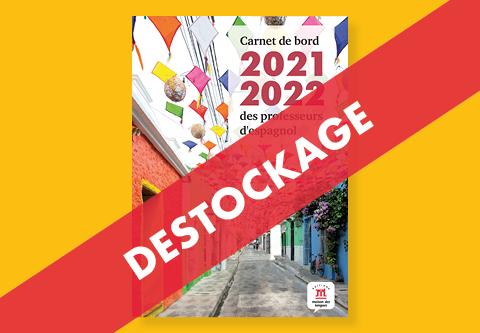 Destockage du Carnet de bord 2021-2022 des professeurs d'espagnol
