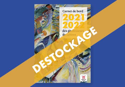 Destockage du Carnet de bord 2021-2022 des professeurs de Lettres